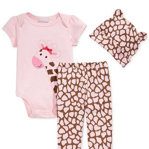 Baby Girls Giraffe Outfit in 3 6 or 9 Months